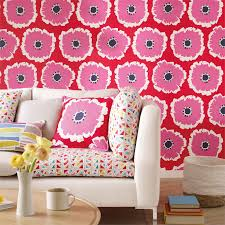 Style Library The Premier Destination For Stylish And Quality - Poppy wallpaper home interior