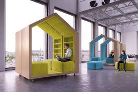 dymitr malcew u0027s tree house modules provide privacy in open plan
