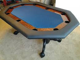 Octagon Poker Table Plans Poker Table Photos Brian U0027s Stretched Octagon