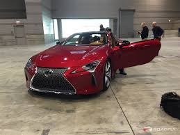 lexus lc luxury coupe 2017 lexus lc 500 overview with laura conrad