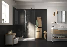 dark bathroom floor tiles home design