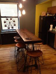 long narrow rustic dining table image result for tall skinny island bar kitchen pantry tasting
