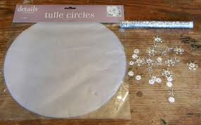 tulle circles two ways to use tulle circles dollar store crafts