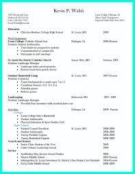 College Application Resume Builder 98 College Application Resume Template Examples Of Resumes How To