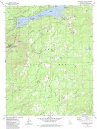 Map Ca Huntington Lake Topographic Map Ca Usgs Topo Quad 37119b2