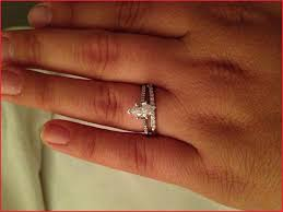 wedding band with engagement ring best marquise engagement rings with wedding band photos of wedding