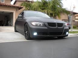 matte black bmw 328i wrapped my car