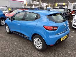 renault blue used renault for sale clio tce 90 eco dynamique blue cardiff