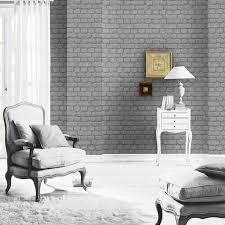 Grey Wallpaper Living Room Uk Grey Brick Effect Wallpaper Rasch 226720 New Stone Ebay
