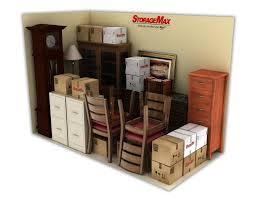 storagemax u0027s storage unit size guide