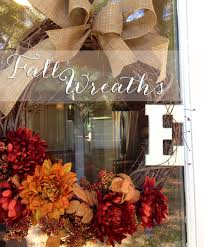 decorating autumn wreaths for wonderful wall and door decor ideas