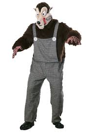 big bad wolf costume men s big bad wolf costume costumes