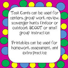 value task cards u0026 worksheets 4th grade common core 4 nbt 1