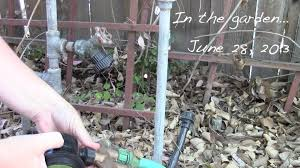 in the garden june 28 2013 installing an electronic timer for
