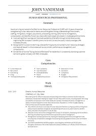 human resources resume exles hr cv exles and template