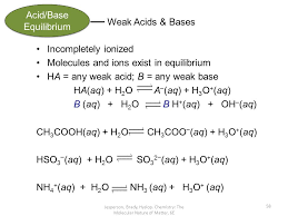 acids u0026 bases chapter 16 u0026 part of chapter 17 chemistry the