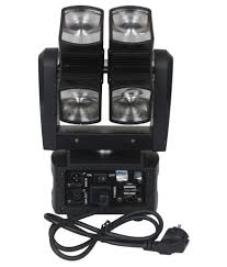 moving head light price india anoralux dual axis eight head moving head light dj lights buy