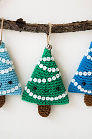 Amigurumi Christmas Ornaments - ravelry alberelli christmas decoration pattern by ilaria caliri