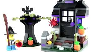 lego trick or treat halloween 40122 review youtube