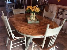 Light Oak Kitchen Table And Chairs I Rescued And Restored This Beautiful Solid Oak Table And Chairs
