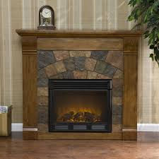 stone electric fireplace tv stand fireplace ideas also stone