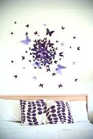 d馗oration papillon chambre fille papillon deco mur mur violet chambre violet et gris chambre bleu