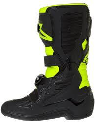 motocross boot sizing alpinestars black fluorescent yellow tech seven s kids mx boot