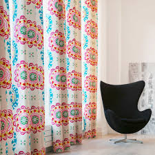 Suzani Curtain Gathered Curtain Suzani Madura