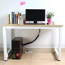 Cable Management Computer Desk Amazon Com Pack Of 5 Sumsonic 20