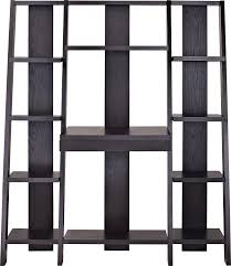Ladder Bookcase Black by Ladder Bookcases Amazon Com