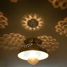Ter Proof Light Fixtures Colander L The Reflections Are Awesome Wow What A Idea