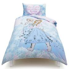 Tesco Bedding Duvet Buy Disney Frozen Anna And Elsa Listen To Your Heart Single Duvet