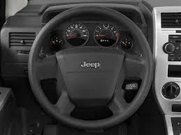 white jeep compass black rims 2008 jeep compass steering wheel interior photo automotive com