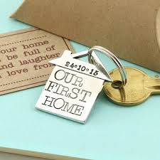 Best Housewarming Gifts For First Home Our U0027new Home U0027 Housewarming Gift Pewter Keyring By Multiply Design