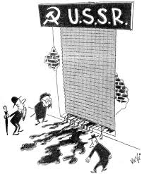 Summary Of Iron Curtain Speech Iron Curtain Political Cartoon Centerfordemocracy Org
