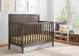 Rustic Convertible Crib Cambridge Mix And Match 4 In 1 Convertible Crib Delta Children