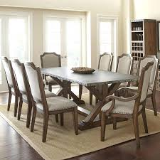steve silver wayland zinc top dining table in driftwood dining