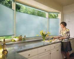 window modern kitchen decoration using cool transparent cellular