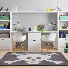 bureau dans chambre chambre d enfant sélection de rangement spécial petits espaces