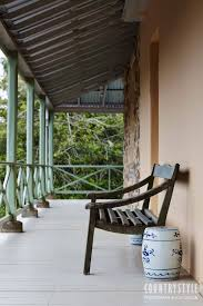 wonderful veranda in the australian bush australian country