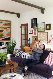 Living Room With Purple Sofa Purple Living Room Onceinalifetimetravel Me