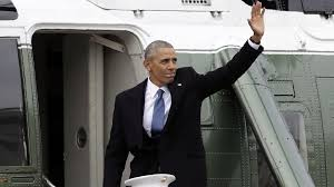 obama addresses farewell gathering before last flight from joint