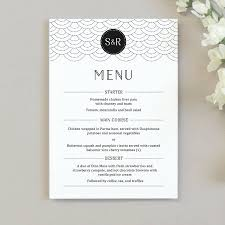 wedding menu cards project pretty millie wedding menu cards wedding
