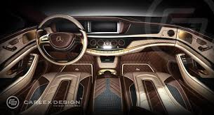 2014 mercedes s class interior mercedes s class gold interior by carlex