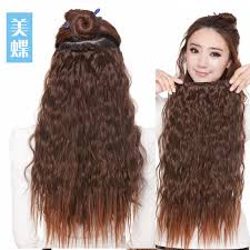 hair clip ins synthetic clip in hair extensions indian remy hair