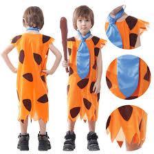 Flintstones Halloween Costumes Aliexpress Buy Children U0027s Fred Flintstone Halloween Costume