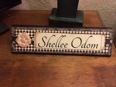 unique name plates unique wooden office desk name plate plaque by shelleeodom