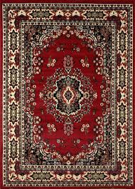 Ebay Antique Persian Rugs by Traditional Medallion Persian Style 8x11 Large Area Rug Actual 7