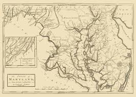 map of maryland historical city county and state maps of maryland