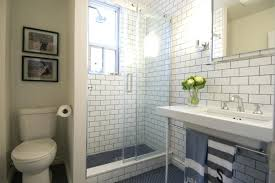 bathrooms flooring ideas subway tile small bathroom for modern designs photo of nifty the
